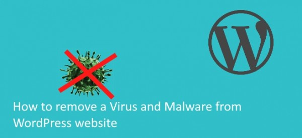 how to remove a virus from wordpress site